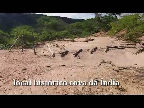 Visita a cova da India/ Portalegre RN