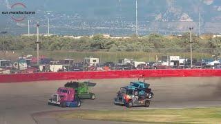 Rocky Mountain Raceways Big Rig Heat Races 6/2/18