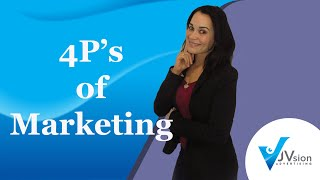 4P's of Marketing - Marketing Mix