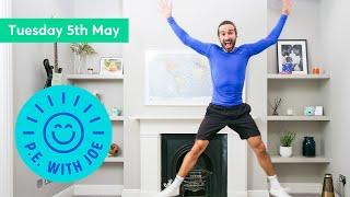 PE With Joe | Tuesday 5th May