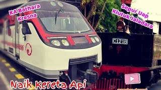 Naik Kereta Api Bathara Kresna Railway & Wisata Sepur Kluthuk Jaladara - Lagu Anak Indonesia
