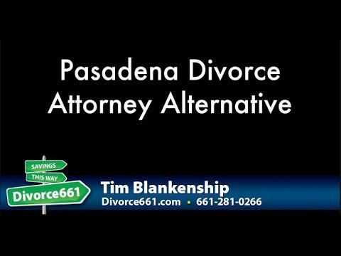 Pasadena Divorce Attorney Alternative | Pasadena Divorce Paralegal Service