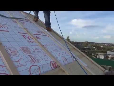 видео: Как сделать мансардную крышу . Часть 2 .  how to  make mansard    roof