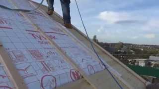 Как сделать мансардную крышу . Часть 2 .  How to  make mansard    roof