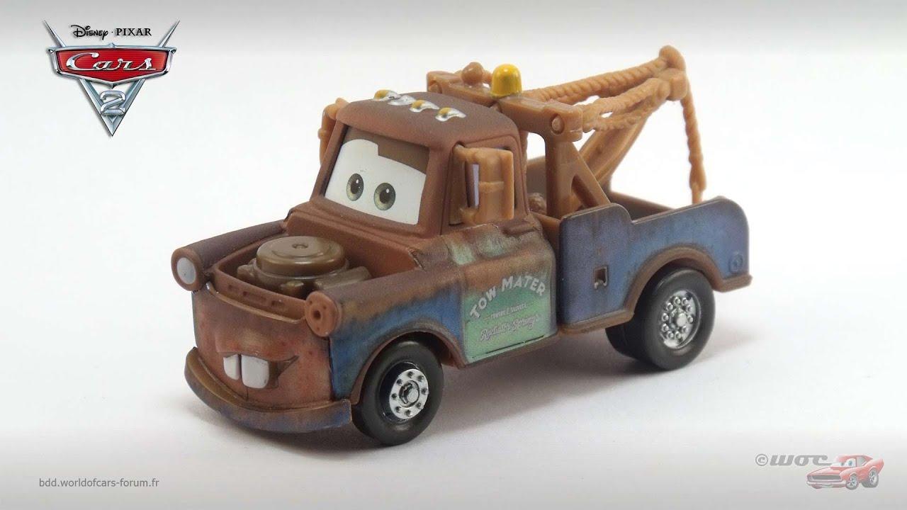 18.8.19.1 Martin Matter toon flambant dépanneuse voiture métal Cars Disney Pixar