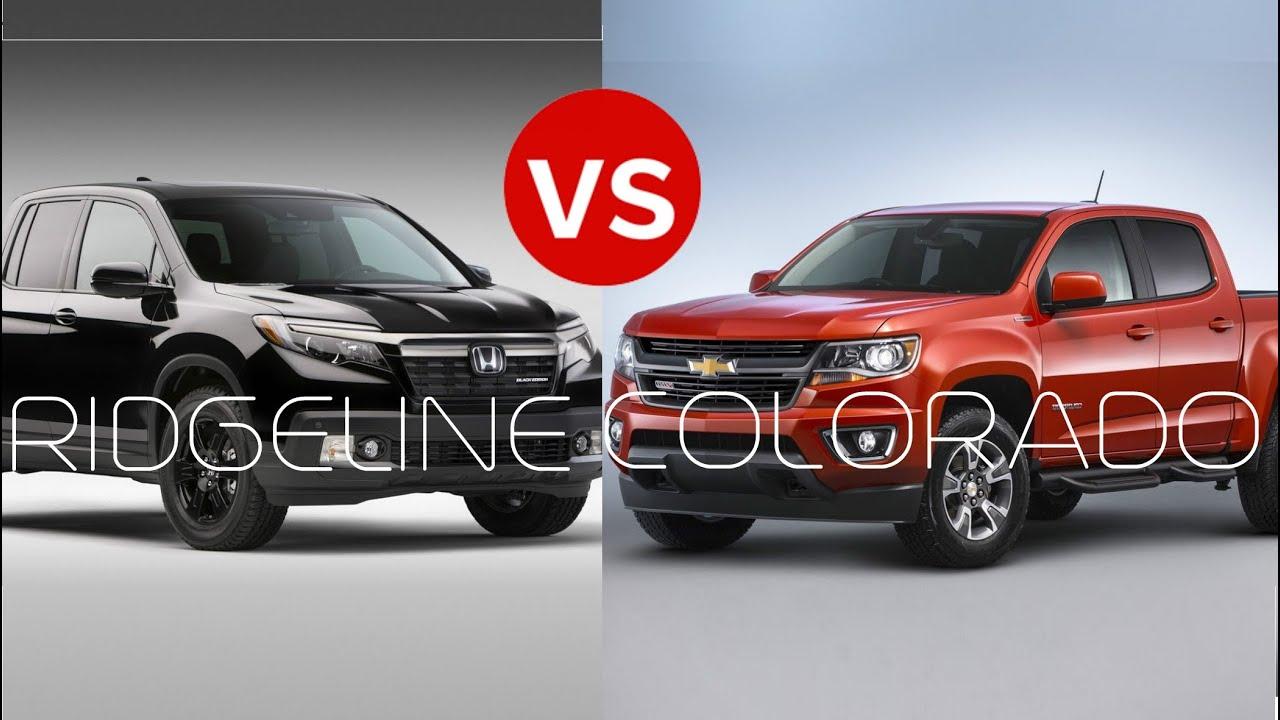 Honda ridgeline vs nissan frontier vs chevy for Honda ridgeline vs chevy colorado