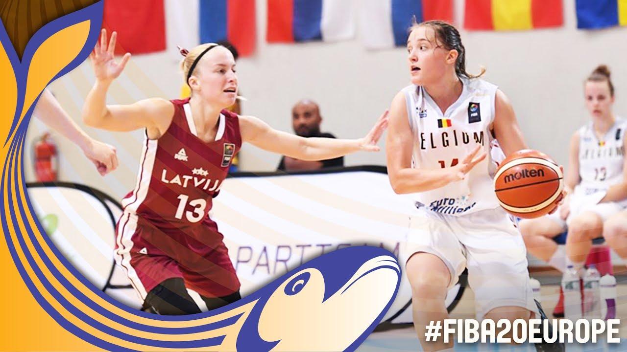 Re-watch Belgium v Latvia - Classification 7-8