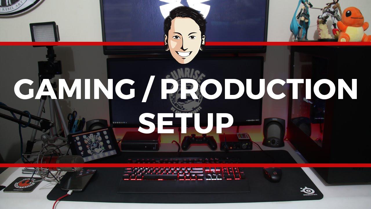 Gaming Production Setup 2016 Corsair Ddr4 Vengeance Led Pc25600 16gb 2x8gb Cmu16gx4m2c3200c16r Red