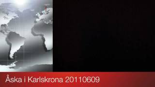 Åska i Karlskrona 20110609