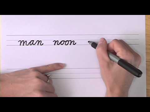 How To Write In Cursive // Lesson 9 // A Complete Course // FREE Worksheets