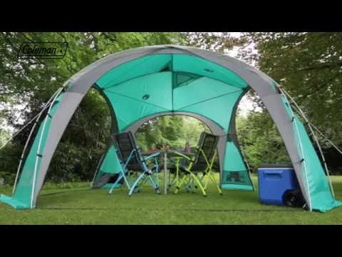 Coleman 174 Event Dome L Shelter En Youtube