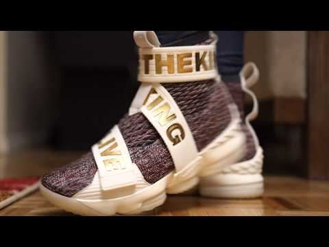 new style fc4c3 d16d4 REVIEW & ON-FEET - Kith x LeBron 15 Lifestyle Stained Glass ...