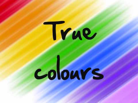True Colours (Glee Cast Version) Lyrics