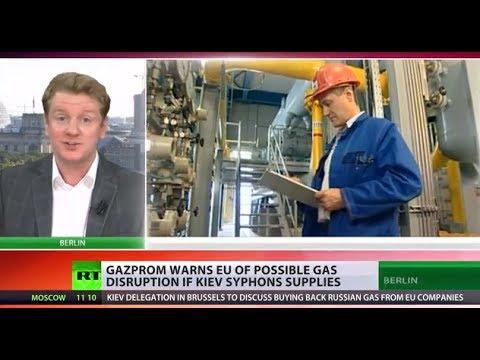 EU may face gas disruption if Ukraine siphons Russian supplies