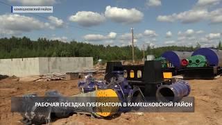 2018 08 20 Светлана Орлова в Камешковском районе
