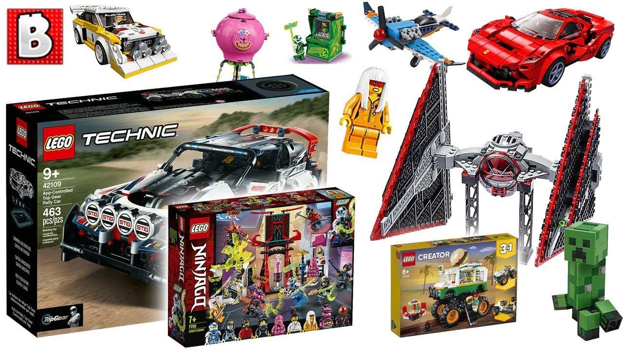 ALL LEGO Winter Wave 2020 Pics!!!  Star Wars Ninjago Marvel Minecraft & More! LEGO News