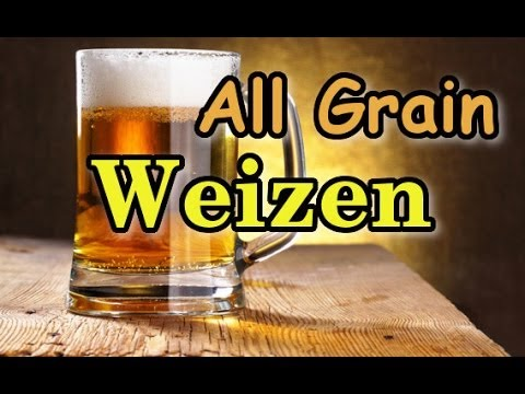 Simple all grain weizen