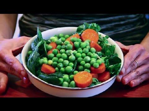 Raw Pea Salad : Raw Food Recipes