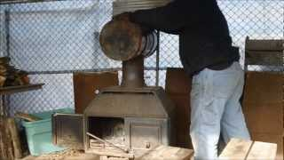 Homemade Baffled Heat Exchanger For My Wood Stove