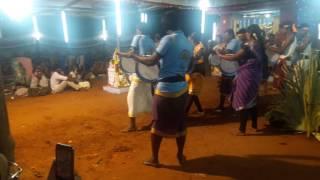 ezluvellai kovil thiruvila thappattam dance 2017