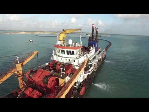 LAMU PORT CONSTRUCTION PROGRESS DOCUMENTARY