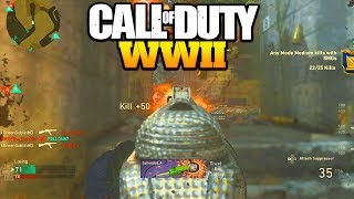 call of duty ww2 still the best smg...