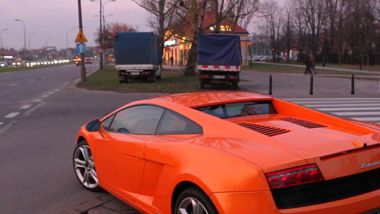 Rozbite Lamborghini Gallardo Na Al Wilanowskiej W
