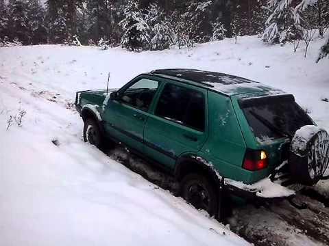 vw golf syncro country snow and sand youtube. Black Bedroom Furniture Sets. Home Design Ideas