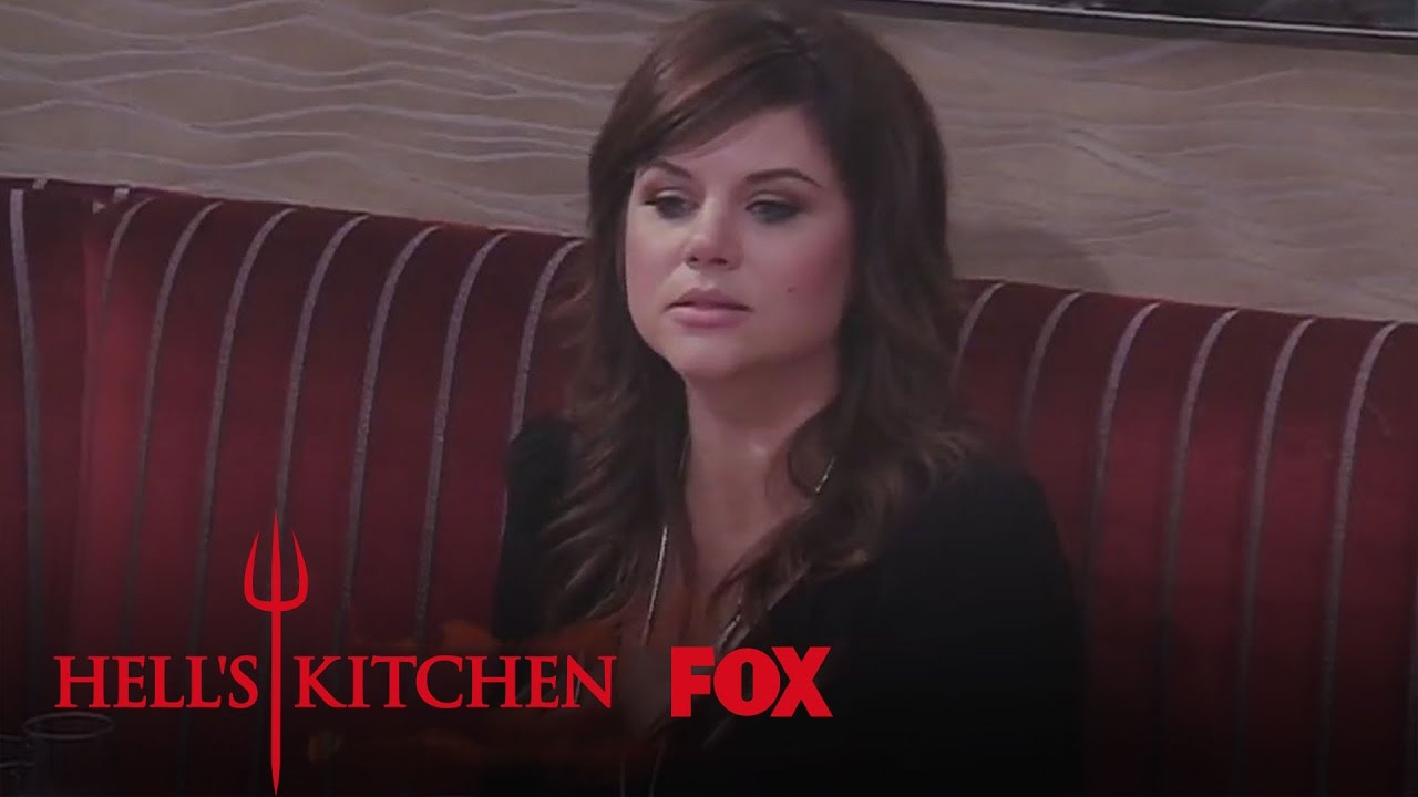 Tiffani thiessen is impressed by nick season 14 for Watch hell s kitchen season 16