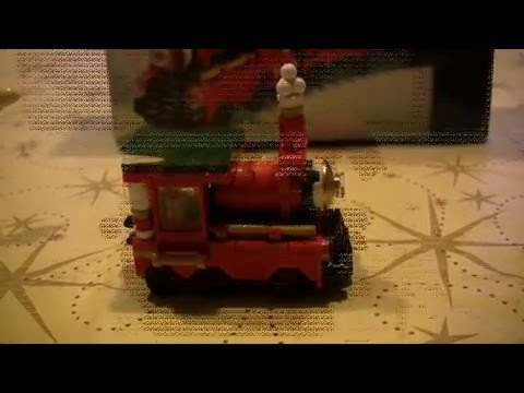 Lego 40138 Christmas Train set review (limited edition 2015) - YouTube