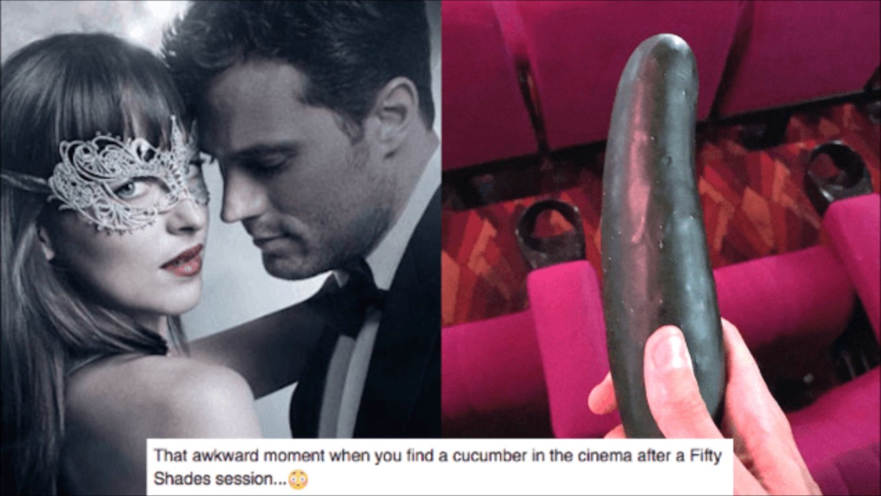 Fifty shades of grey darker finding cucumbers in the for Fifty shades of grey movie online youtube