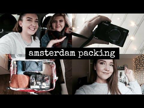 AMSTERDAM PACKING & NEW CAMERA | Sian Ceri