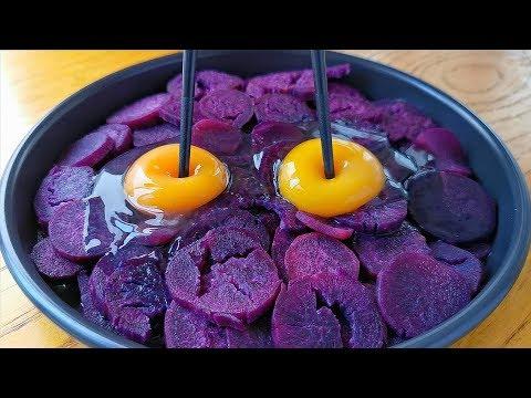 入冬後要多吃紫薯,教你好吃做法,筷子攪一攪,出鍋孩子搶著吃! 【小穎美食】