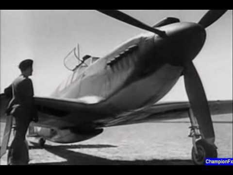 RAF Various Rare Air Combat Footage
