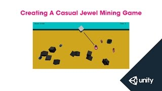 Live Training Jan. 26th, 2015: Creating A Casual Jewel Mining Game