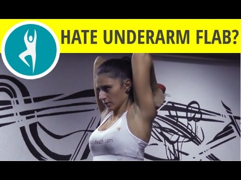 Underarm Flab Exercises  Quick Fixes For Anything That Jiggles Youtube