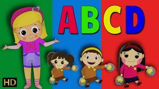 ABCD Song For Children (HD) | Learn ABC Alphabets Song | Shemaroo Kids Tamil