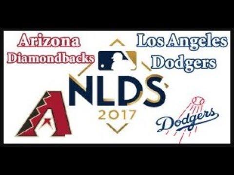 Diamondbacks vs Dodgers NLDS Game 2 LIVE 10/07/2017