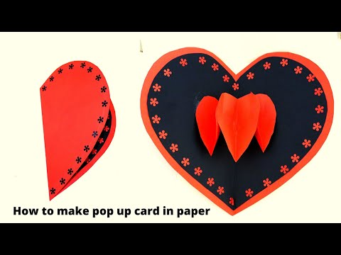 Pop up cards ll simple and easy card ll greeting card ll DIY easy cards ll Card tutorial