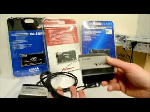 XM and Sirius Satellite Radio Car Install Add Ons Explained In Detail