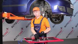 How to replace a Track Rod End on FORD FIESTA 5 TUTORIAL | AUTODOC