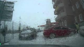 Помогаем на дорогах: honda accord :)