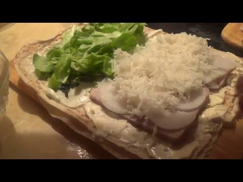 Блюда из черной редьки. Часть 1. Сэндвич-ролл в древнерусском стиле