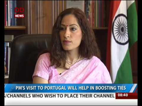Indian Ambassador to Lisbon, Nandini Singla talks exclusively to DD News