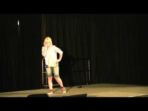 Perth Supanova Cosplay Comp Len from Vocaloid.