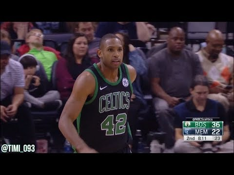 Al Horford Highlights vs Memphis Grizzlies (15 pts, 7 reb, 6 ast)