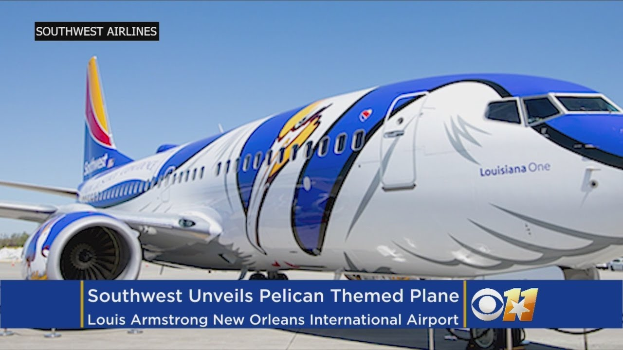 Dallas-Based Southwest Airlines Unveils Louisiana-Themed Jet