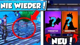 THAT comes NEVER AGAIN in FORTNITE !! 😱| ❌+NEW SKINS in SHOP!😱