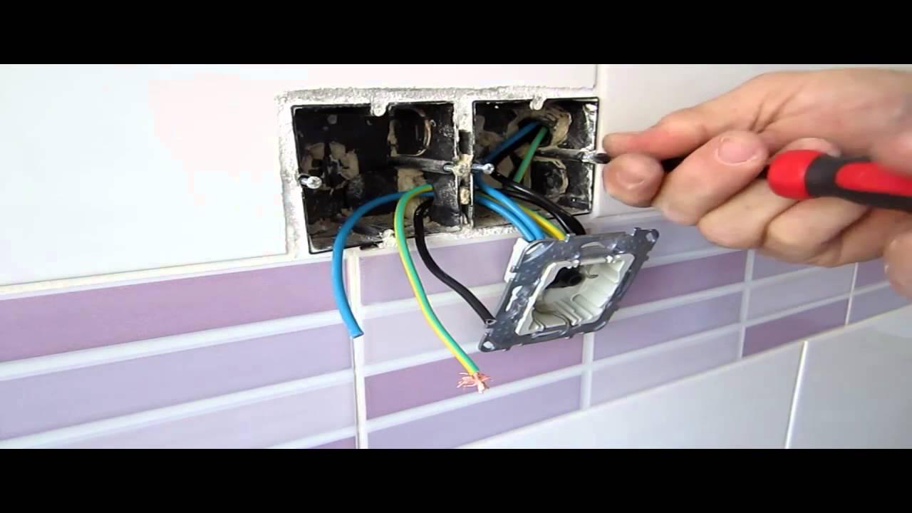 Reforma de electricidad en cocina 7 conectar bases - Enchufes de luz ...