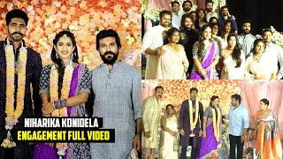Niharika Konidela Engagement Full Video   Niharika Konidela Wedding Celebrations   Telugu Tonic